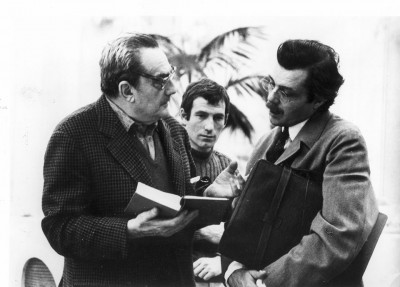 with Luchino Visconti, Death in Venice (1971)