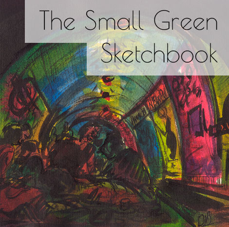 The Small Green Sketchbook