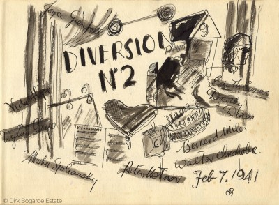 Diversion No. 2, 1944, from the Sketchbook