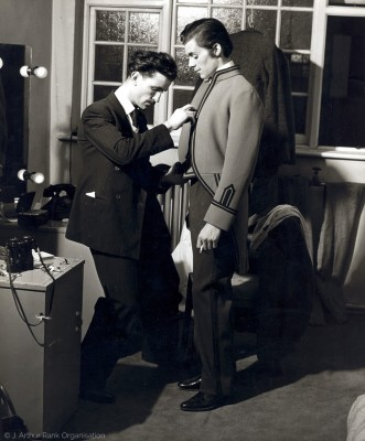 Early Publicity Still, Being Tailored
