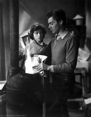 with Joan Rice, Blackmailed (1951)