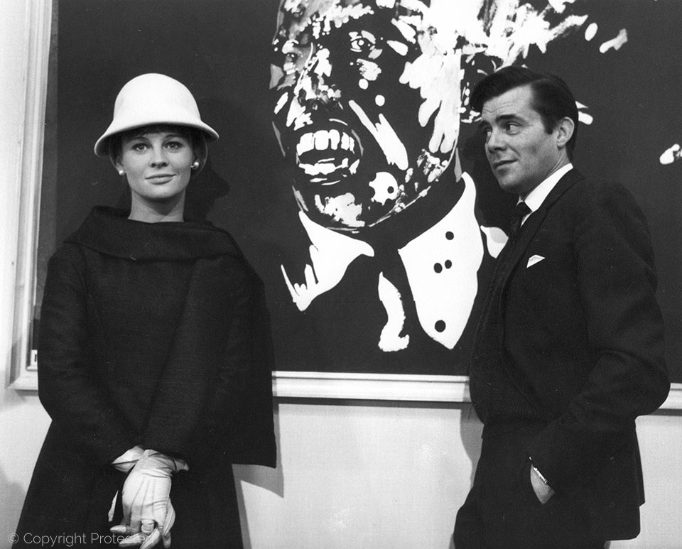with Julie Christie, Darling (1965)