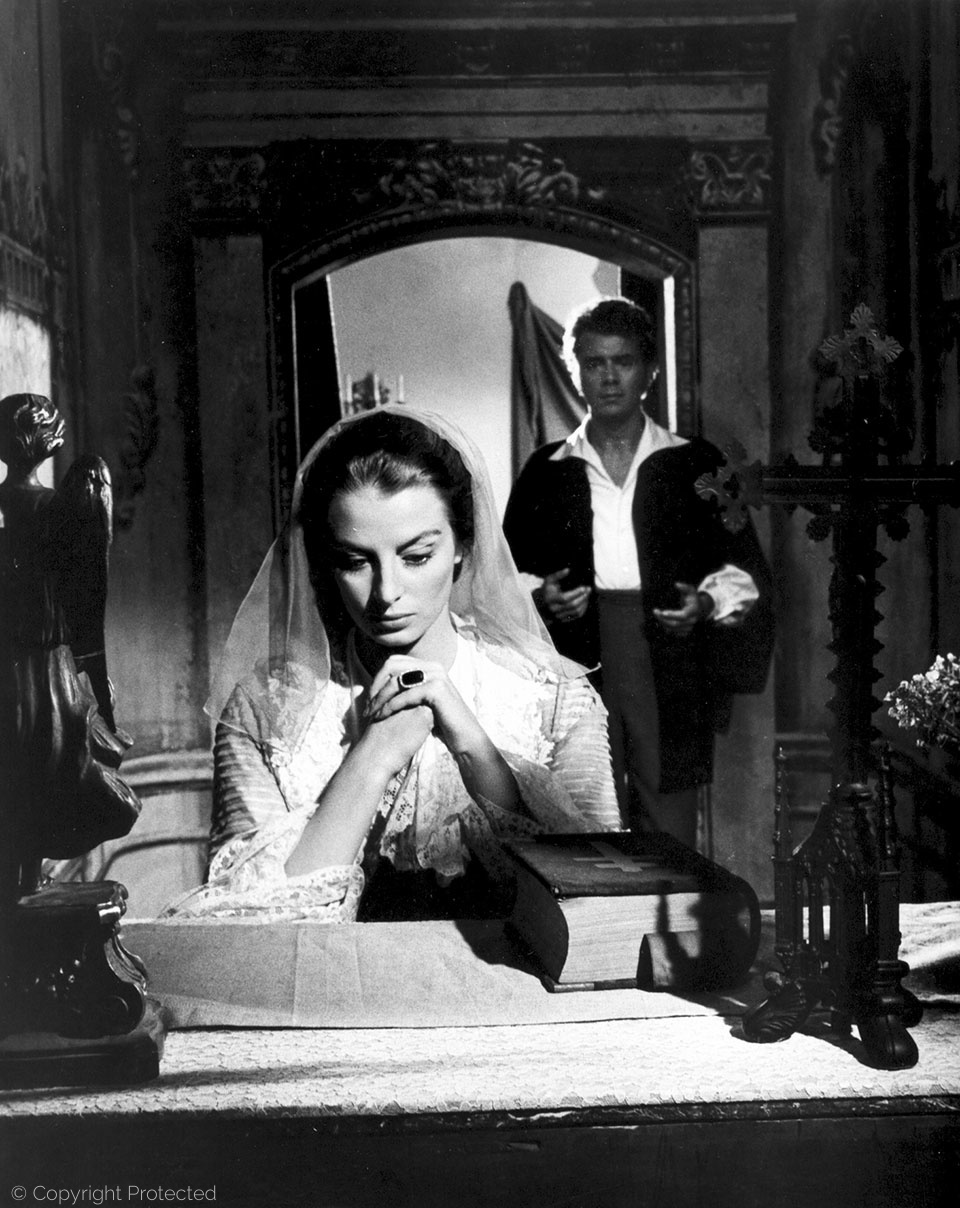 with Capucine, Song Without End (1960)