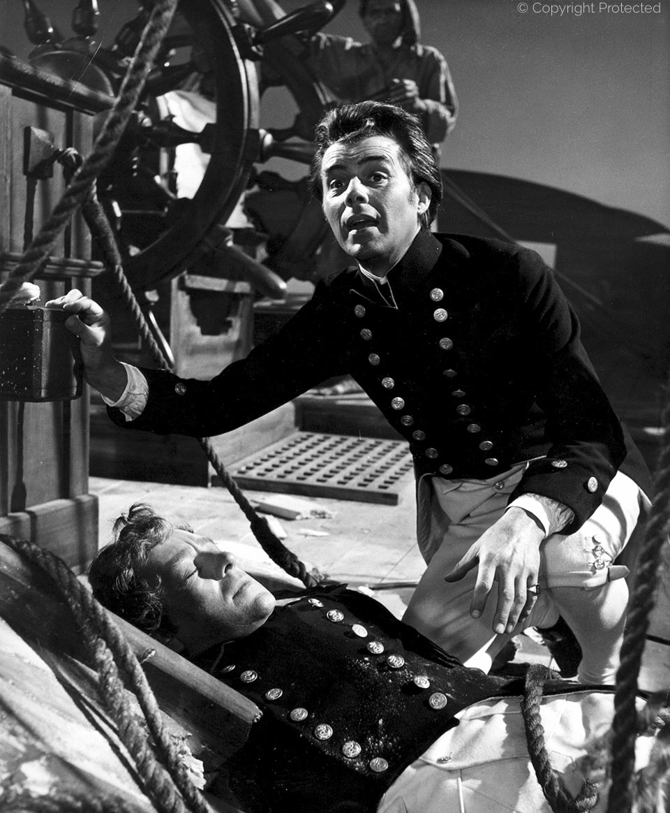 with Alec Guinness, HMS Defiant (1962)