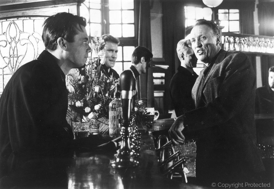 with Joseph Losey, The Servant (1963)