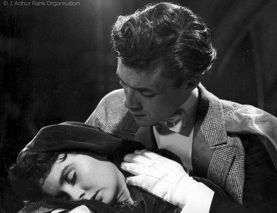 with Jean Simmons, So Long at The Fair (1950)