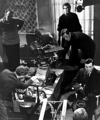 with Joseph Losey, The Servant (1963)