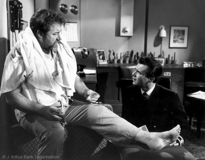with James Robertson Justice, Doctor at Sea (1955)