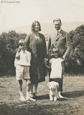 Dirk with Mother and Father and Sister